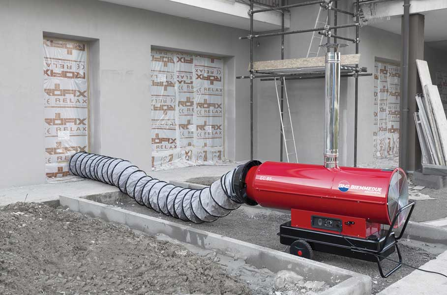 EC Series Indirect Fired Portable Heater