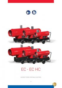 EC Series Indirect Fired Mobile Space Heater