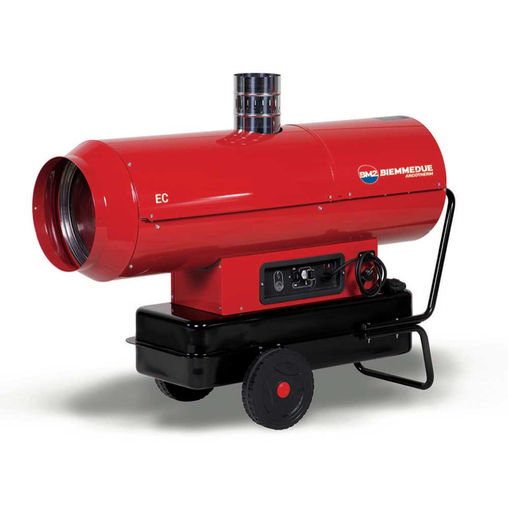 EC Series Indirect Fired Mobile Heater