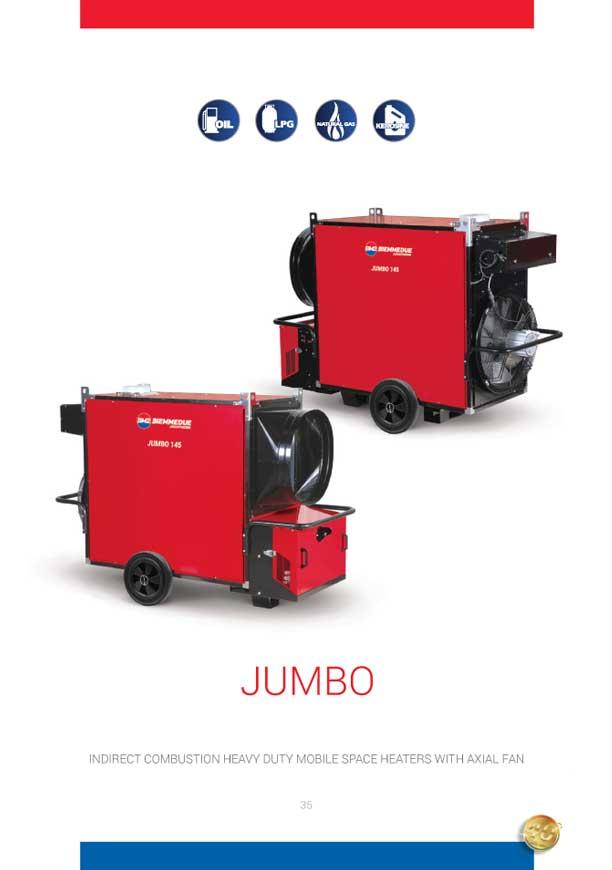 Jumbo Series Indirect Mobile Heater