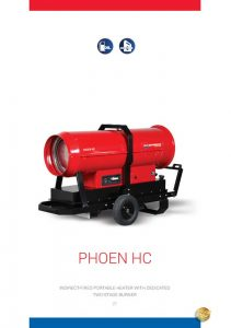 Phoen Indirect Fired Mobile Space Heater