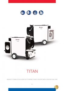 Titan Series Indirect Mobile Heater